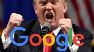 spam do donald trump no Google Analytics